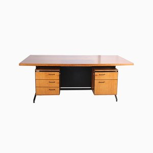 Rosewood Desk by Friso Kramer & Coen de Vries for Eeko, 1960s
