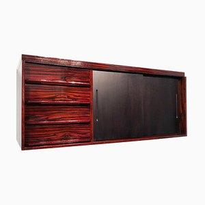 Mid-Century Italian Macassar Ebony Sideboard, 1950s
