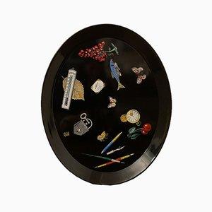 Großes Tablett von Atelier Fornasetti, 1950er