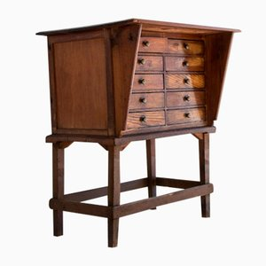 Italian 10-Drawer Pharmacy Chest, 1920s