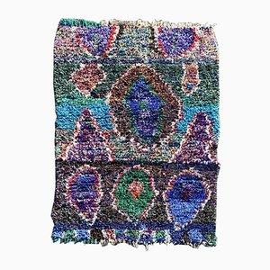 Marokkanischer Vintage Boucherouite Teppich, 1990er