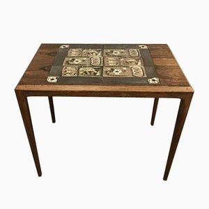 Tavolino da caffè in palissandro di Johannes Andersen per CFC Silkeborg, anni '60