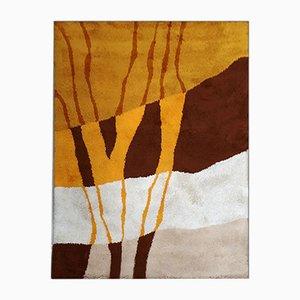 Tappeto Space Age di lana, Italia, anni '70