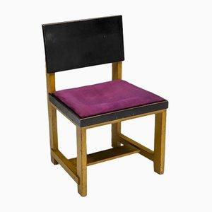 Moderner niederländischer Stuhl in Gelb von Hwouda