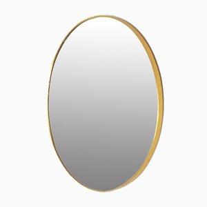 Specchio rotondo vintage, anni '60