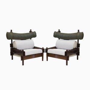 Palisander Tonico Stühle von Sergio Rodrigues, 1960er, 2er Set