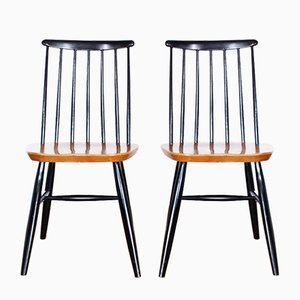 Dining Chairs by Ilmari Tapiovaara, 1960s, Set of 2