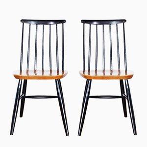 Esszimmerstühle von Ilmari Tapiovaara, 1960er, 2er Set
