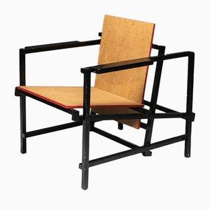 Vintage Armlehnstuhl im Rietveld Stil