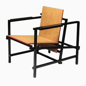 Vintage Rietveld Style Armchair
