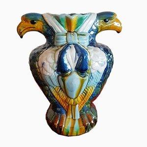 Jarrón Art Déco en forma de águila, años 20
