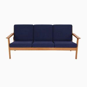 GE265 Sofa von Hans J. Wegner für Getama, 1970er