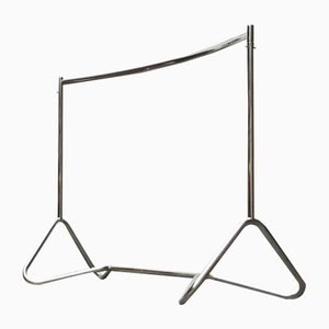 Mid-Century German Space Age Tubular Metal Coat Rack from Bremshey & Co., Solingen