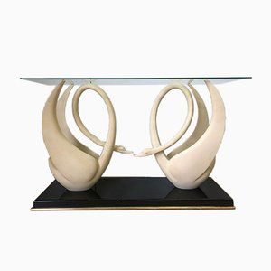Mid-Century Console Table by Jean Henri Jansen for Maison Jansen