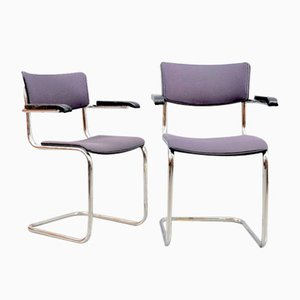Vintage S43 Dining Chairs by Mart Stam for Thonet, Set of 6