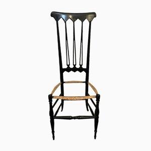 Esszimmerstühle von Gio Ponti für SAC Chiavari, 1950er, 6er Set