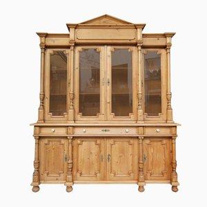 Mueble grande de madera blanda, años 80