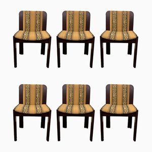 Rosewood Dining Chairs, 1970s, Set of 6