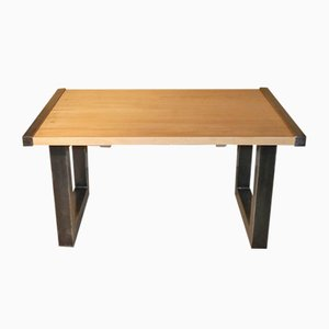 Italian Industrial Maple Dining Table from Officina di Ricerca, 1990s