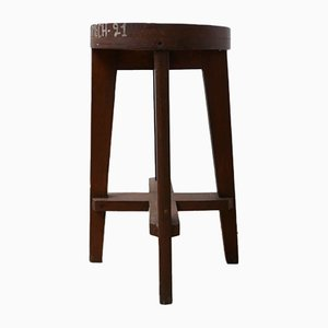 Mid-Century Bar Stool by Pierre Jeanneret, 1960s