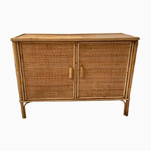 Wicker Sideboard, 1960s