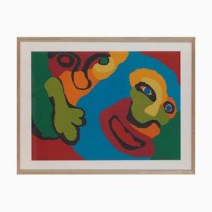 Affiche Karel, 1921-2006, Faces, Sérigraphie