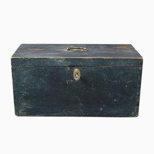 Vintage Wooden Trunk, 1920s
