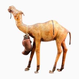 Mid-Century Leder Kamel, 1960er