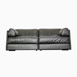 Sofá o sofá cama DS 76 vintage de cuero de de Sede