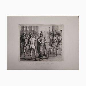 Large Lithograph, Litografia Zannoli, 1835