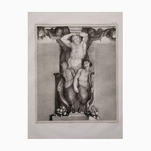 Große Atlas Lithografie Litografia Zannoli, 1835