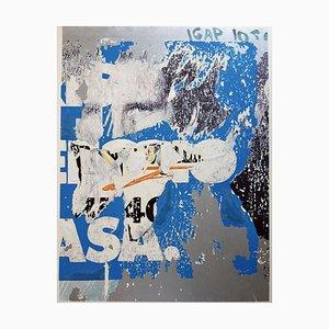 Siebdruck und Collage, Mimmo Rotella, Asa