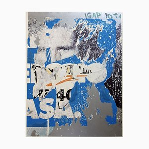 Silkscreen and Collage, Mimmo Rotella, Asa