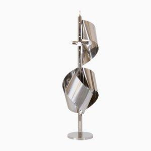 Chrom Stehlampe von Goffredo Reggiani für Reggiani, 1960er