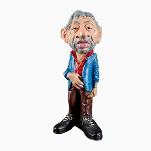 Figurine Statue by Serge Gainsbourg, 1928-1991