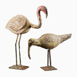 Wooden Waterbirds, Set of 2
