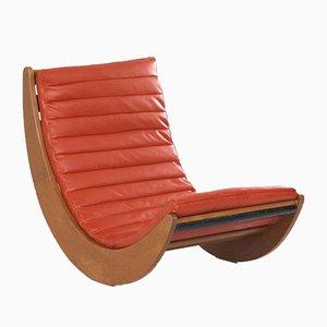 Mecedora Relaxer 2 de Verner Panton para Rosenthal, años 70