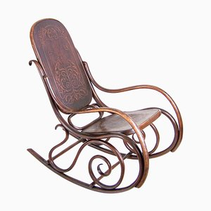 Thonet Nr. 10 Rocking Chair, 1900s