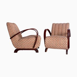 Armchairs by Jindřich Halabala, Set of 2