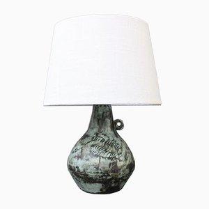 Französische Vintage Keramiklampe von Jacques Blin, 1950er