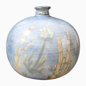Jarrón decorativo de cerámica de Alexandre Kostanda, años 70