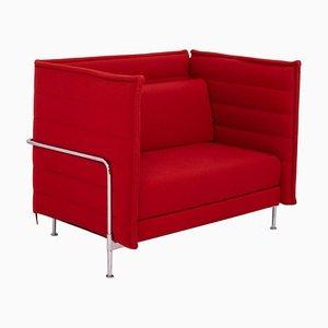 Rotes Alcove Loveseat Sofa von Ronan & Erwan Bouroullec für Vitra, 2006