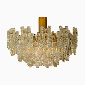 Large Glass Chandelier by J. T. Kalmar, 1960s