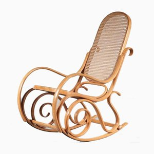 Bentwood Rocking Chair from Thonet, France, 1950s