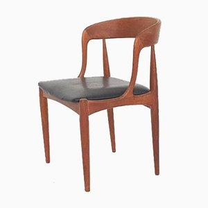 Modell 16 Teak Esszimmerstuhl von Johannes Andersen für Uldum Mobelfabrik, 1950er