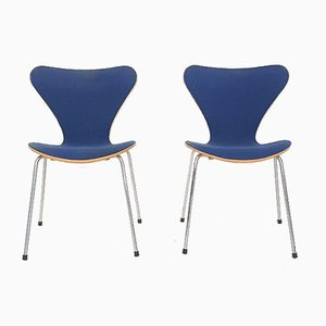 Butterfly Chairs by Arne Jacobsen for Fritz Hansen, Denmark, 1989, Set of 2