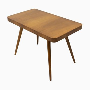 Mid-Century Walnut Coffee Table from Czech Furniture, 1960s, Czechoslovakia