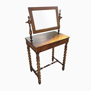 Toilet Table with Walnut Mirror