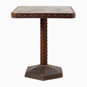 Square Rivet Bistro Table