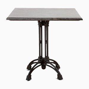 Square Blue Stone Bistro Table